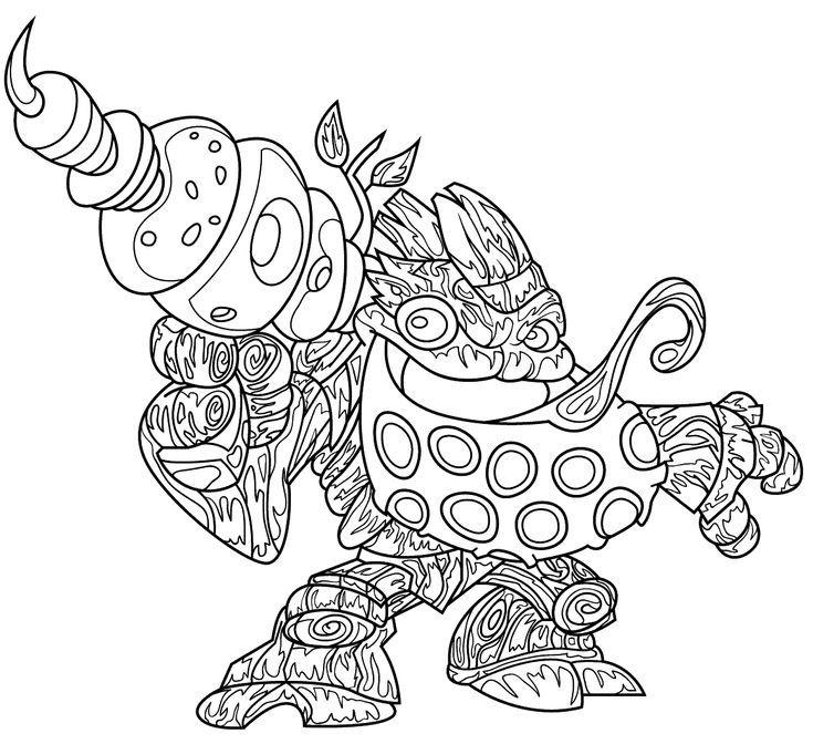 Skylanders Coloring Pages Ninja Turtles In 2020 Coloring Pages Coloring For Kids Skylanders