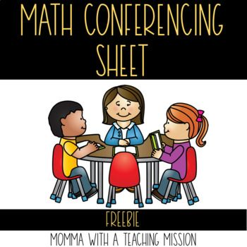 Conference Recording Sheet for Math Conference So conferencing works for reading and writing---so why not use what we use to teach reading and writing and have our students apply it to their math problem solving as well! How I introduced Math Close Reading
