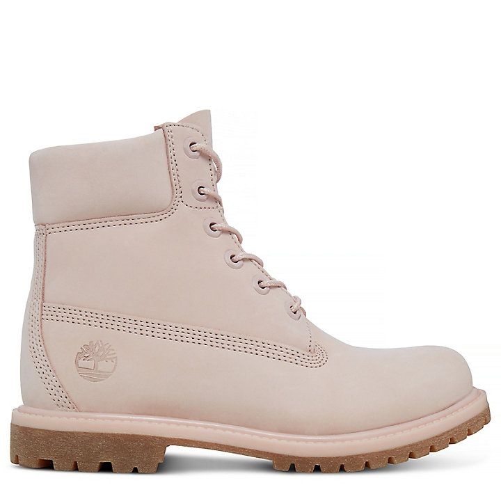 the best attitude 3be78 e83ea Premium 6 Inch Boot for Women in Pale Pink | Timberland ...