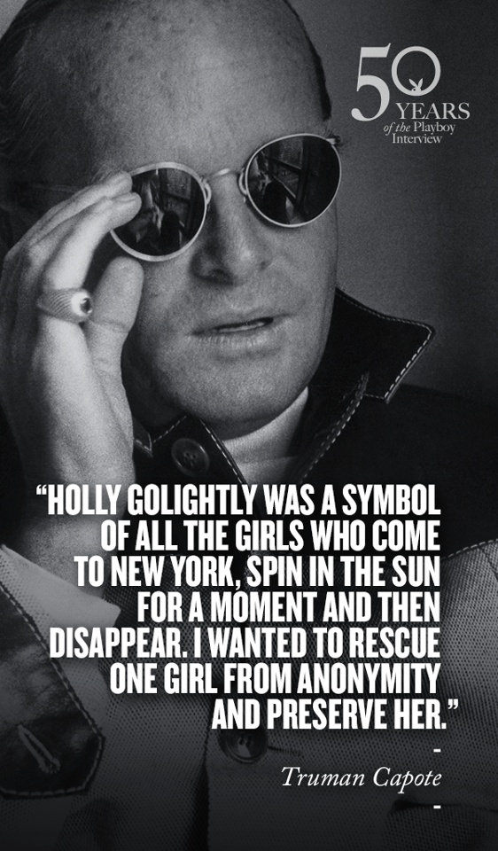 Truman Capote on Holly Golightly