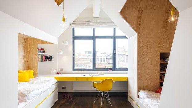 children bedroom made by FABRIKAAT design by Van Staeyen Interieur
