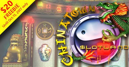 #Slotland is offering a $20 freebie to try the new #ChinatownSlot  Slotland is offering a $20 freebie to try the Exotic New Chinatown Slot that Buzzes with the Sights and Sounds of Bustling Asian Market Streets  https://www.playcasino.co.za/blog/slotland-offering-20-freebie-try-new-chinatown-slot/