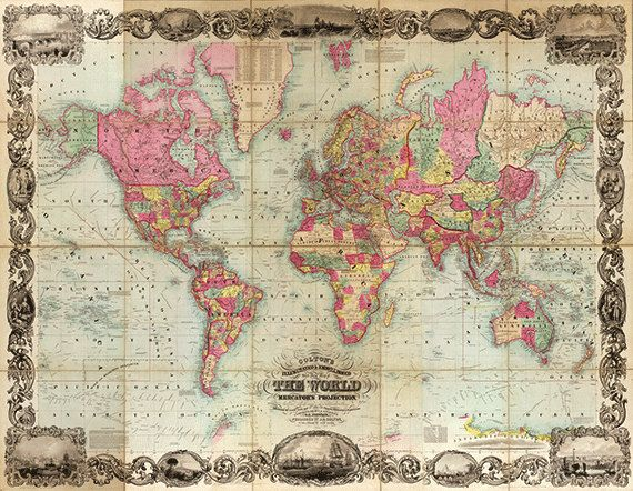 19 best Maps images on Pinterest
