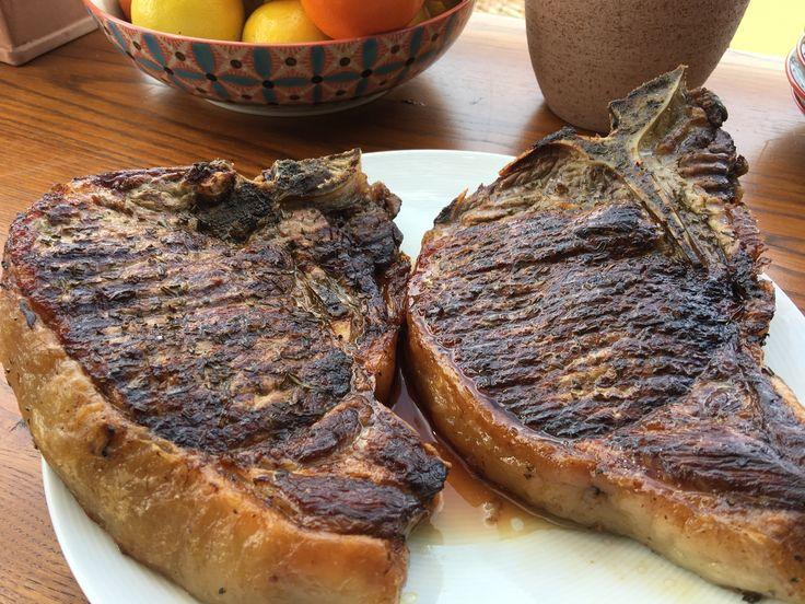 Bistecca Fiorentina Recipe by Giada De Laurentiis @gdelaurentiis http://www.giadadelaurentiis.com/recipes/183/bistecca-fiorentina