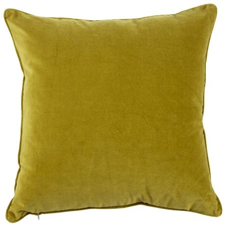 Velvet Cushion 50x50cm in Chartreuse was $34.95, NOW $23.95 #freedomautumnsale
