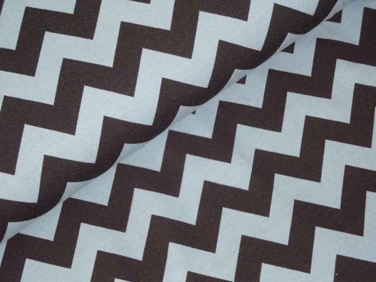 Mia Jersey Chevron schwarz grau von AllerHandArbeiten auf DaWanda.com