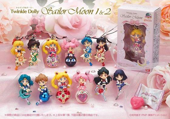 """Sailor Moon """"Twinkle Dolly"""" series one and two. I don't think I'll be able to pass them up next time I find them. They're tiny and are made beautifully so that they are worth the $10-$11."""