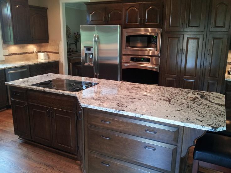 3cm White Glacier Granite Dream Home Pinterest