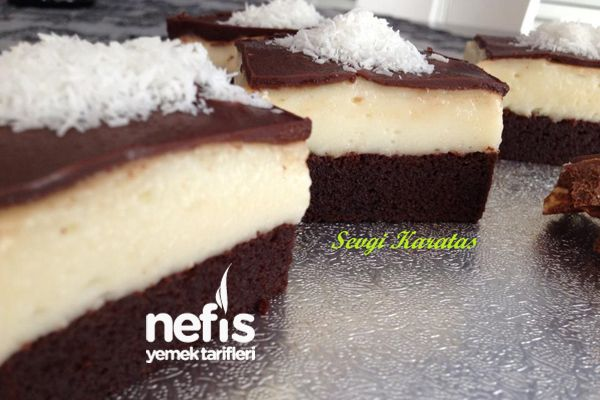 Şerbetli Çikolata Kare Tatlısı 7
