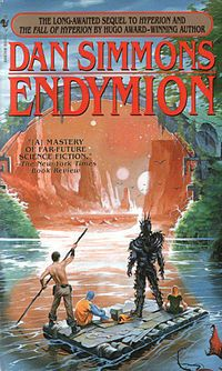 Endymion is the third science fiction novel by Dan Simmons in his Hyperion Cantos fictional universe.