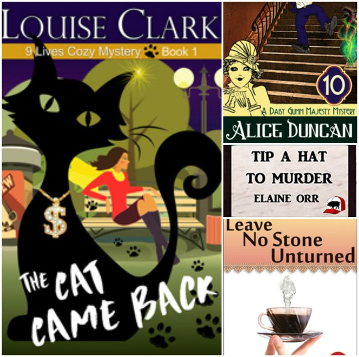 Get 4 full-length Cozy Mystery eBooks for FREE.  BestSelling authors. Download from BookFunnel.  Loads direct to your reading library. Deal Expires March 31.