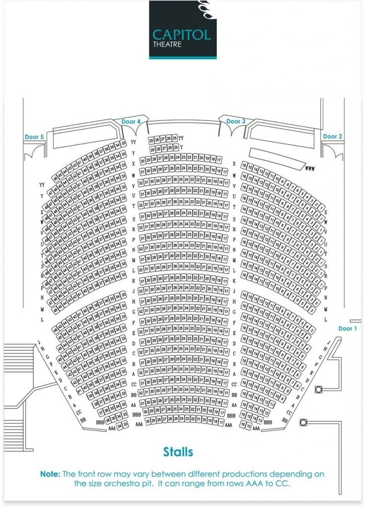 Awesome Along With Attractive Capitol Theatre Sydney Seating Plan