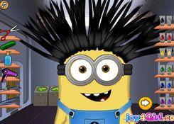 JuegosdeMinion.com - Juego: Minion Hair Salon - Jugar Juegos Gratis Online Flash