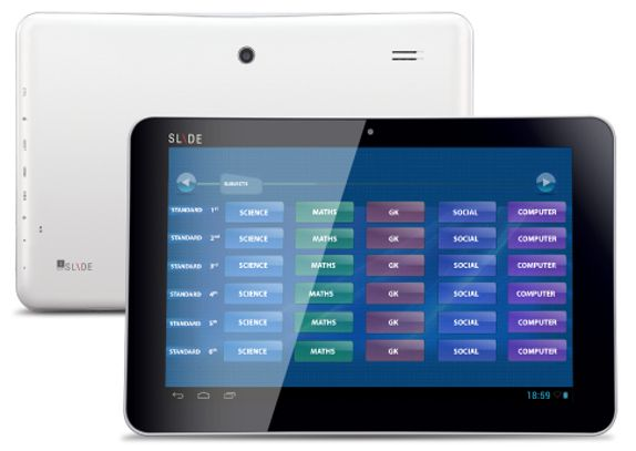iBall Intros Education-oriented Edu-Slide i1017 Tablet at Rs.12999/-   Web Gyaan