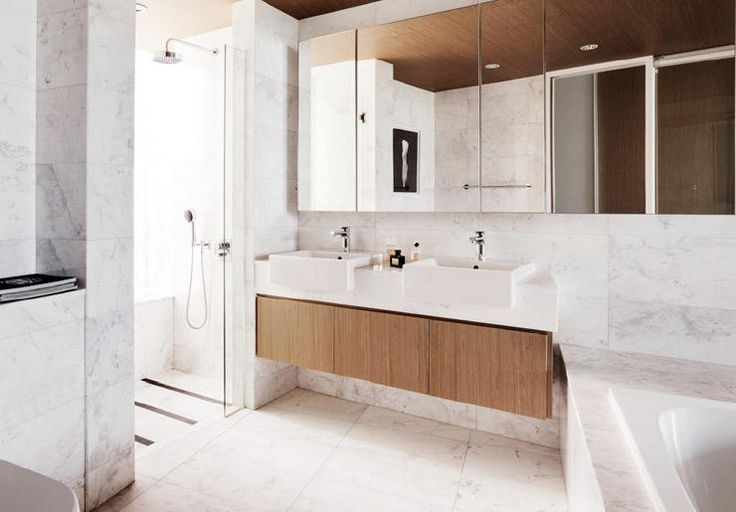 Here are some ways to dress up your bathroom walls with different finishes.