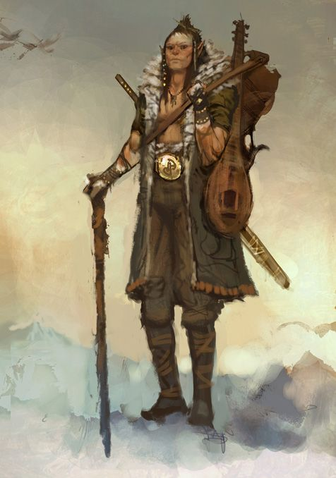 Character Design D D : Best images about bard on pinterest character art
