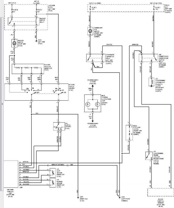 1996 montero blower motor wiring diagram | 1994 Mitsubishi ...