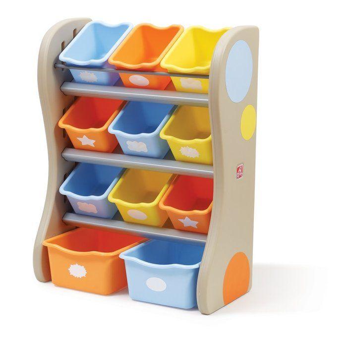 Step2 Fun Time Room Organiser Tropical.  Available at Kids Mega Mart Online Shop Australia