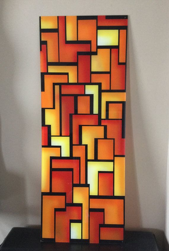 Airbrushed Plexiglass Wall Art  4 foot high x18 by ChrisTheArtGuy