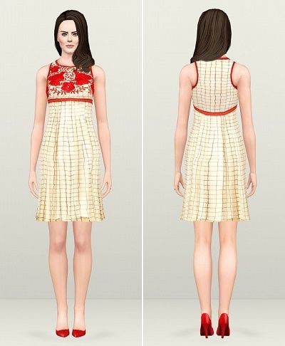 Sims 3 Female Clothes: New Maternity Dresses Custom ...