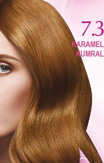 Nevacolor 2017 Saç Renk Kartelası - Nevacolor karamel kumral saç renkleri