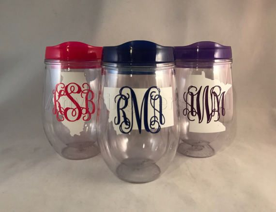 Personalized Cup, State Monogram, State Cup, Monogrammed Gift, Wine Cup, Monogram Gift, Bev2Go, Beach Cup, Bachelorette Cup #winecups #wine #statelove #homestate #hosewarminggift #movinggift #bridesmaids #bride #bridesmaidgiftideas #bridesmaidgift #wineglass #bridalpartygift #anythingpersonal #bev2go #monogrammedbev2go #etsy #etsyshop #etsyseller #etsysellerofinstagram