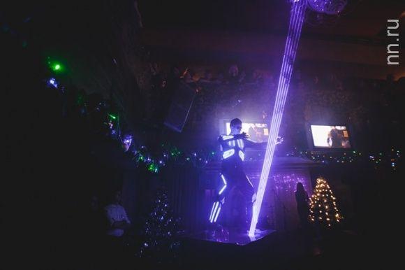 #LaserManShow на празднестве «День Нижегородского Интернета 2014». #DreamLaser #laserman #lasershow #лазерноешоу #лазермен