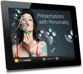 Browser-based presentation sharing service that available in desktop presentation programs.
