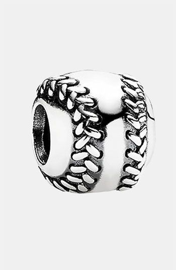 PANDORA Baseball Charm available at Nordstrom: Style, Pandora Charms, Sterling Silver, Jewelry, Pandora Baseball