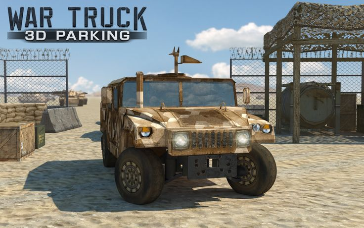 Get in the army spirit and experience the thrill of driving a military war truck!
