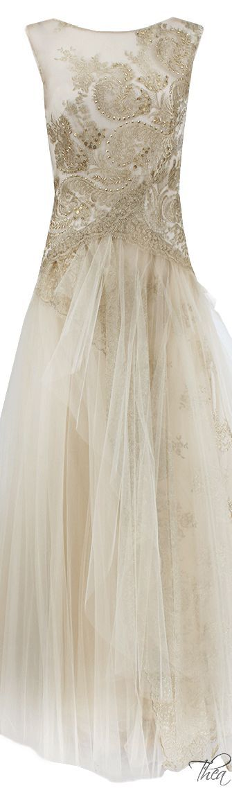 Notte By Marchesa ● Lace & Tulle Gown