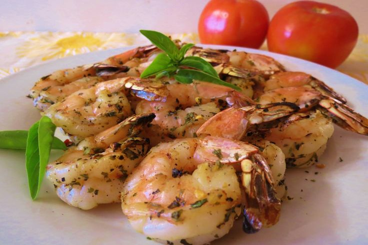 Italian Grilled Shrimp Kabob's - A quick and easy grilled shrimp, seasoned with basil, oregano, red peppers and more. Perfect for summertime grilling.