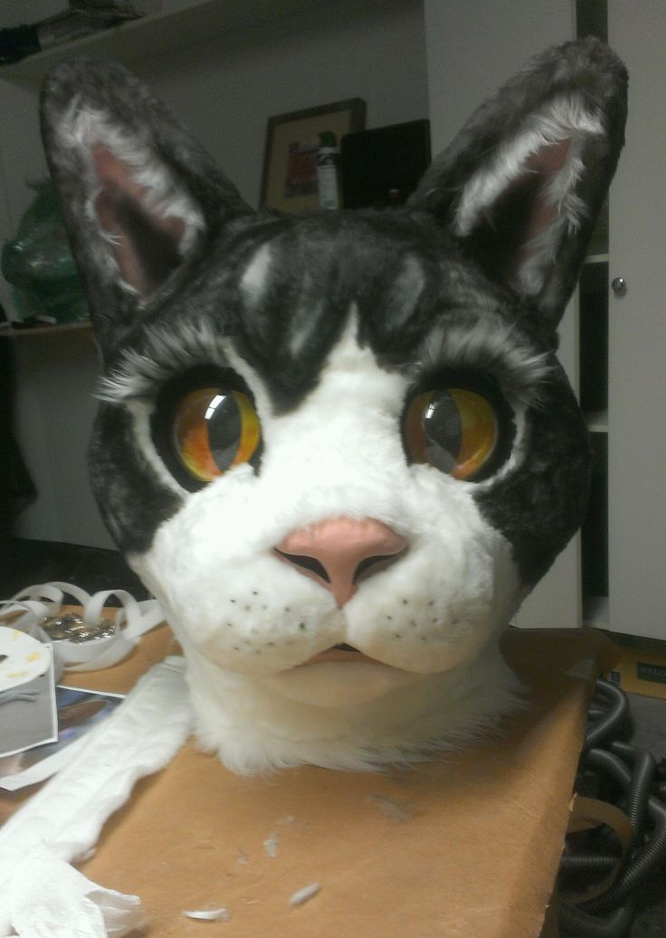 Image result for how to make a cat fursuit