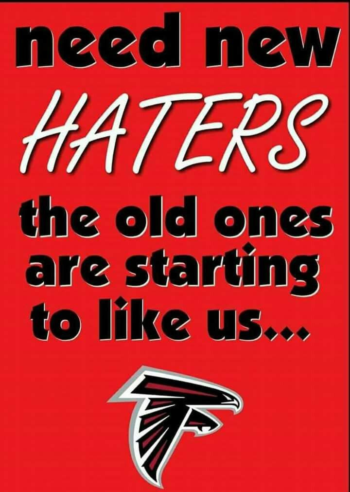 Atlanta Falcons need new haters