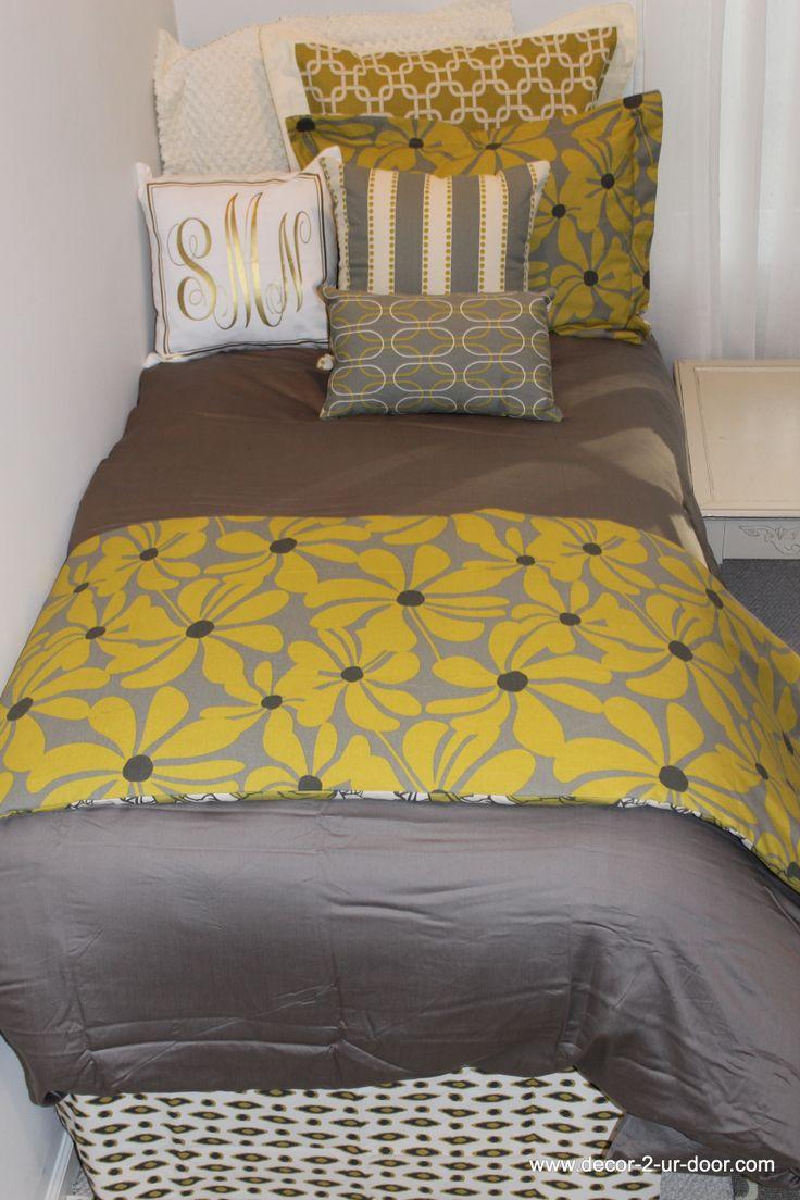 Designer Dorm Room Bedding