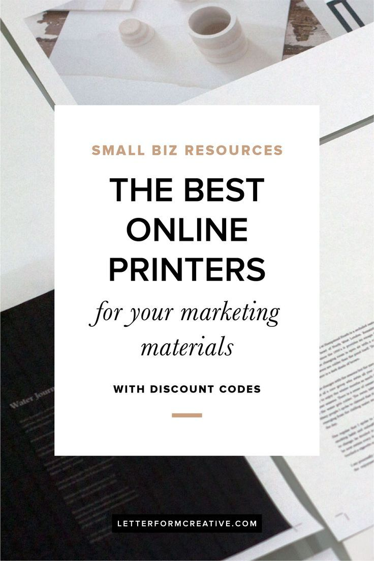 Looking for the best online printers for your marketing materials? This blog post has a list of some that your small business can rely on. Whether affordability, quality, or flexibility is your priority, you'll find one to meet your needs. This is an important resource for every business and some discount codes are included!