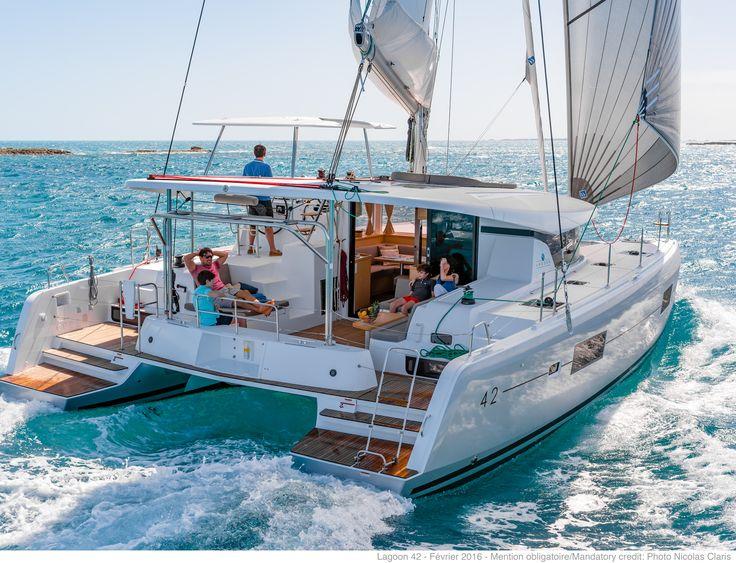 Lagoon 42 catamaran: building, sale and chartering of luxury cruising catamarans