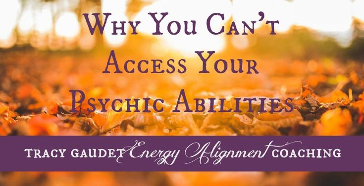 Why You Can't access your psychic abilities. Ok, so here is a loaded one. We all have psychic abilities and we all chose to use them (or not) at some time or another. It's just like a muscle, if you work it out you will become more aware of it. If you totally sit on the couch and don't do much you may very well forget you have abs, or find yourself feeling really negative about them. As in 'do I even have abs anymore?' Your muscles are still there, they just need some love....