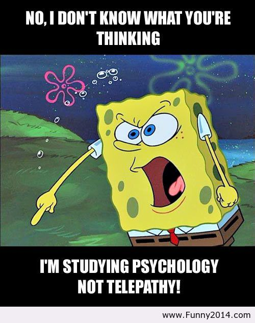 Spongebob about really any therapy student