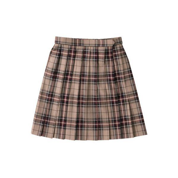 School Skirt (ARCS-1020) (W60) ARCS-1020 arCONOMi Apparel (1.099.735 IDR) ❤ liked on Polyvore