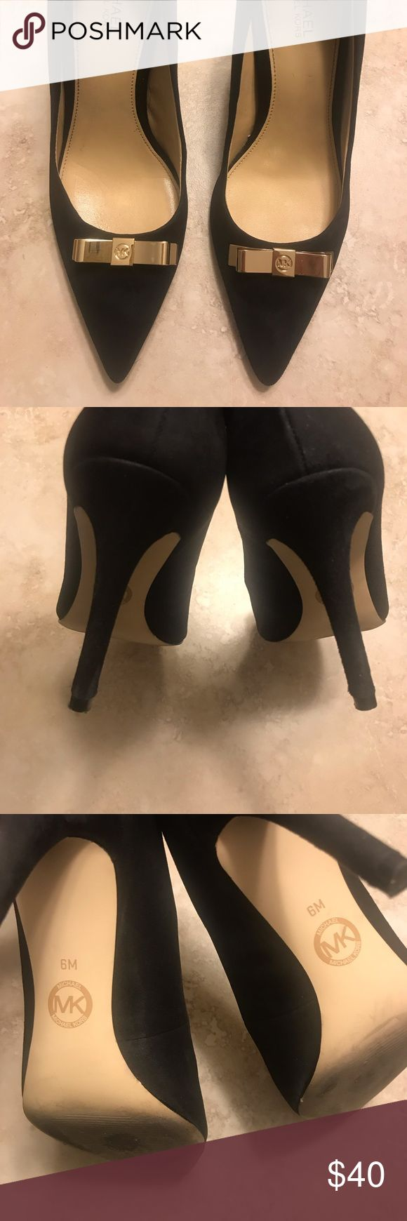 MICHAEL Michael Kors Black Suede Pumps Excellent condition! Worn twice for work …