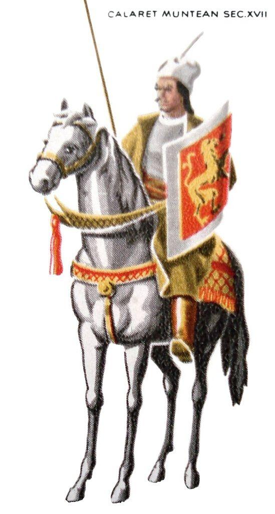 Wallachian horseman, 17th century