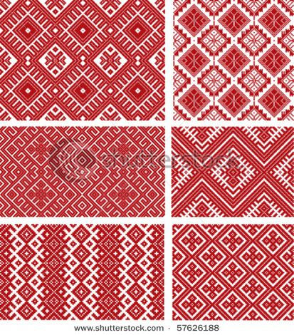 more traditional patterns - Romania