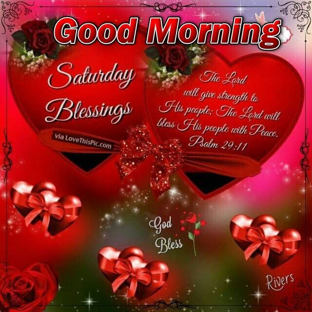Good Morning Saturday Text : Good morning saturday blessings with hearts