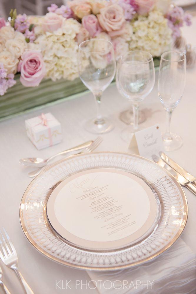 丸型がキュート♡ピンクのかわいい結婚式のメニュー表まとめ一覧♡
