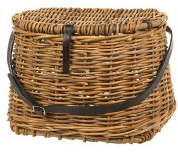Fishing Basket with Leather Strap - Complete Pad ®