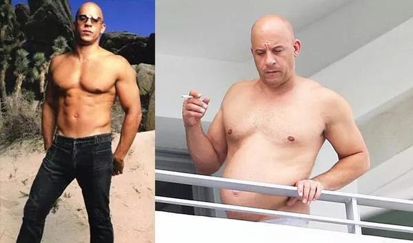 Vin Diesel diventa tendenza su Twitter, non solo per aver deciso chi sara' il regista di Fast & Furious 8, ma soprattutto per aver esibito una pancia da paura!
