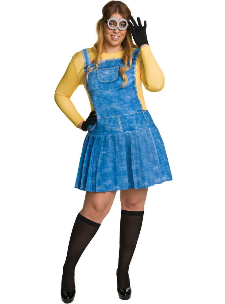 Disfraz de Minion divertido talla grande para mujer