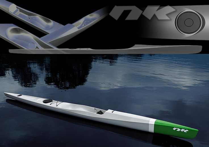 RAPIDO 2.0 / NORDIC KAYAKS. Surfski. Design and concept by PONTUS NY in cooperation with Fredrik Lindström (Nordic Kayaks) and Björn Thomasson. 2011. http://www.nordickayaks.se/