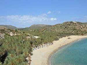 Vai Palm Beach Crete